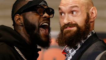 Tyson Fury (rechts) liess seinem Kontrahenten Deontay Wilder im Ring keine Chance. Der will jetzt aber einen Rückkampf. Lesen Sie unten, was Fury dazu zu sagen hat.