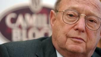 Im Alter von knapp 85 Jahren verstorben: Rolf Bloch (Archiv)
