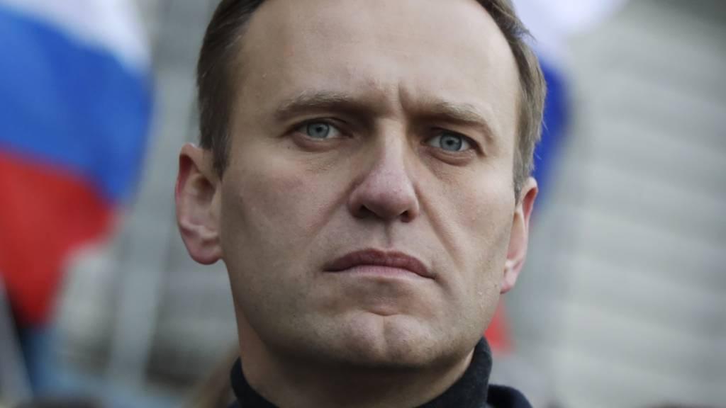 Nawalny im «Spiegel»: Putin steht hinter der Vergiftung