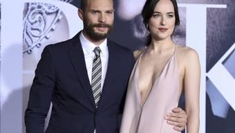 """Der """"Fifty Shades""""-Hauptdarsteller Jamie Dornan (links) wird erneut Papa. (Archivbild)"""