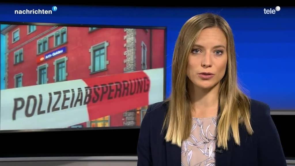 Bombendrohung in Goldau