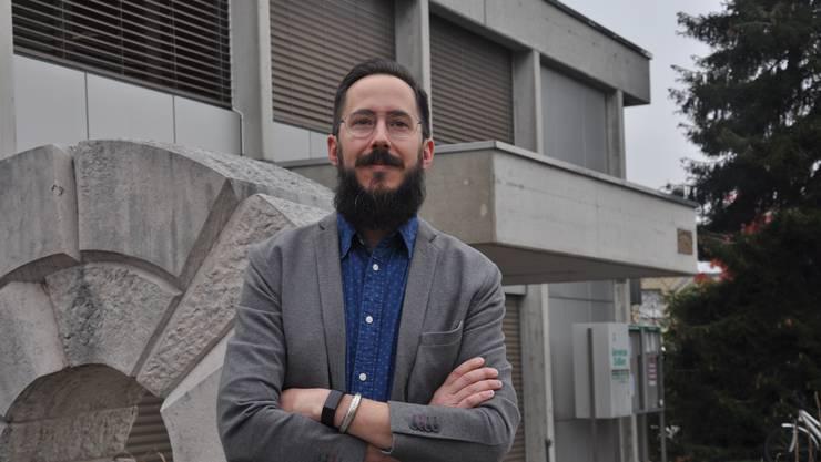 Kantonsrats-Kandidat Stefan Käser Stauffiger