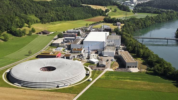 Das Paul-Scherrer-Institut in Villigen.