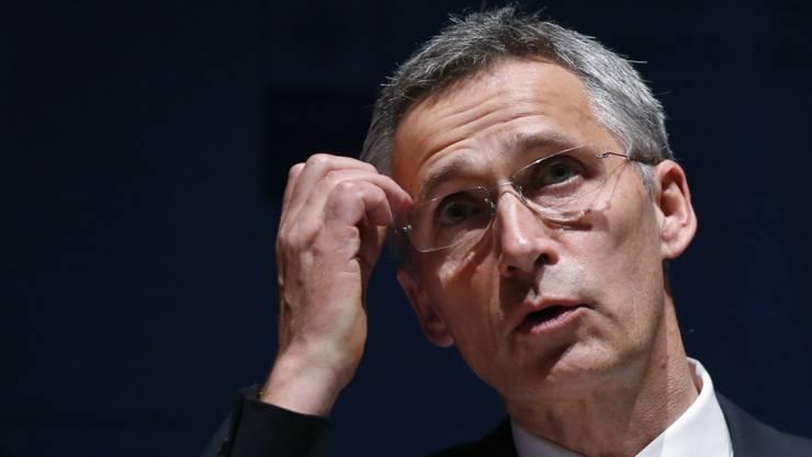 """Kritisiert das """"Säbelrasseln Russlands"""": NATO-Generalsekretär Jens Stoltenberg"""