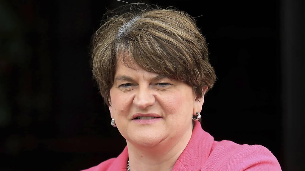 Nordirlands Regierungschefin Foster tritt ab