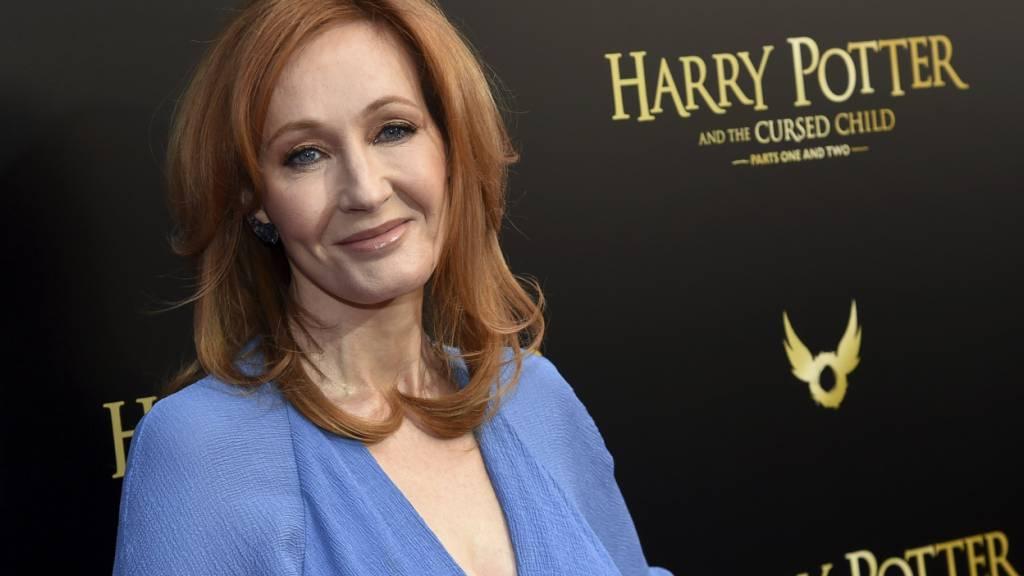 ARCHIV - Die Autorin J.K. Rowling. Foto: Evan Agostini/Invision/AP/dpa