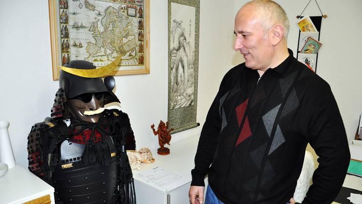 Bei Urs Jäger kann der JapanBegeisterte alles finden, was einen echten Samurai ausmacht.