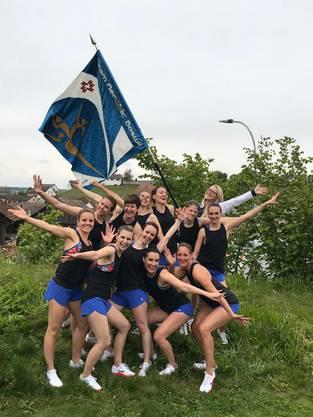 Die Turnerinnen des Team Aerobic Boswil zeigen einen hervorragenden ersten Wettkampf in der Saison 2019. Sie gewinnen am Chläggi Cup in Wilchingen SH souverän.