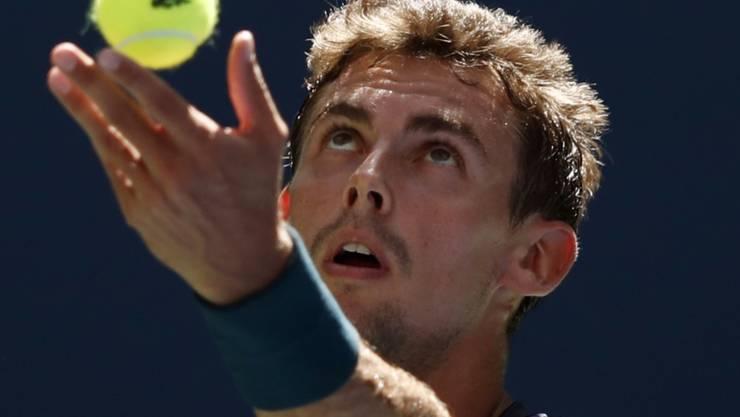 Henri Laaksonen steht in Antwerpen in der 2. Runde
