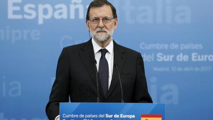 """""""Die EU der 27 wird vereint bleiben, um die Rechte und Interessen der Bürger zu schützen und ihr Zukunftsprojekt zu stärken"""", sagte Spaniens Ministerpräsident Mariano Rajoy am Montag am Südeuropa-Gipfel in Madrid."""