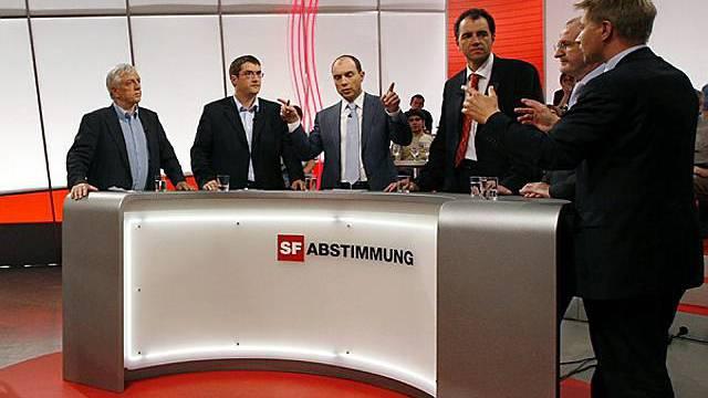 Elefantenrunde im Schweizer Fernsehen