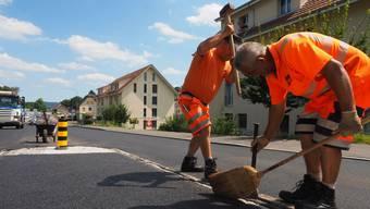 In Zukunft sollen im Kanton Aargau vermehrt rezyklierte Baumaterialien verwendet werden.