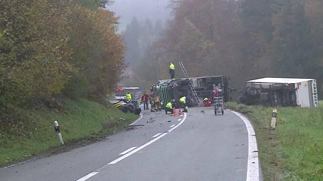 Schwerer Verkehrsunfall bei Endingen