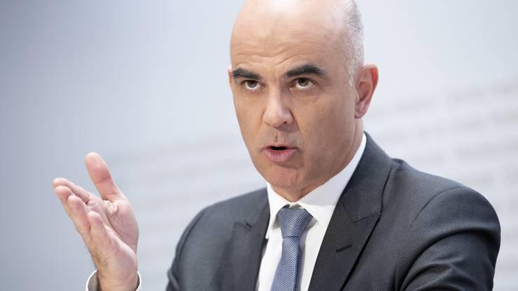 Wurde Opfer eines Erpressungsversuchs: Gesundheitsminister Alain Berset.