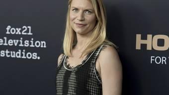 """Wird 2019 zum letzten Mal in ihrer Rolle als CIA-Agentin Carrie Mathison zu sehen sein: US-Schauspielerin Claire Danes. Die Erfolgsserie """"Homeland"""" endet nach acht Staffeln. (Archivbild)"""
