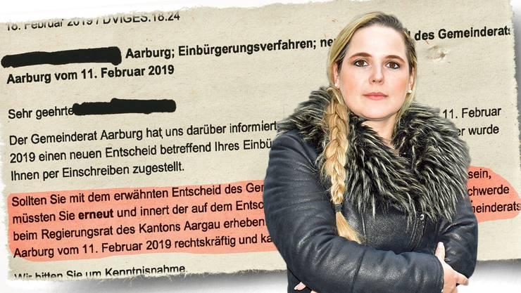 Martina Bircher, Frau Vizeammann in Aarburg und SVP-Grossrätin, kritisiert die «proaktive Kommunikation des Kantons» scharf.