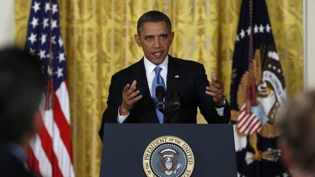 US-Präsident Obama drängte am Montag auf höhere Schuldengrenze