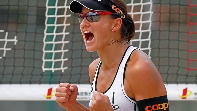 Simone Kuhn läuft es in Peking