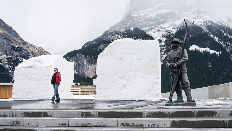 Tristesse in Grindelwald im Berner Oberland: Auf den Schweizer Tourismus kommen harte Zeiten zu.