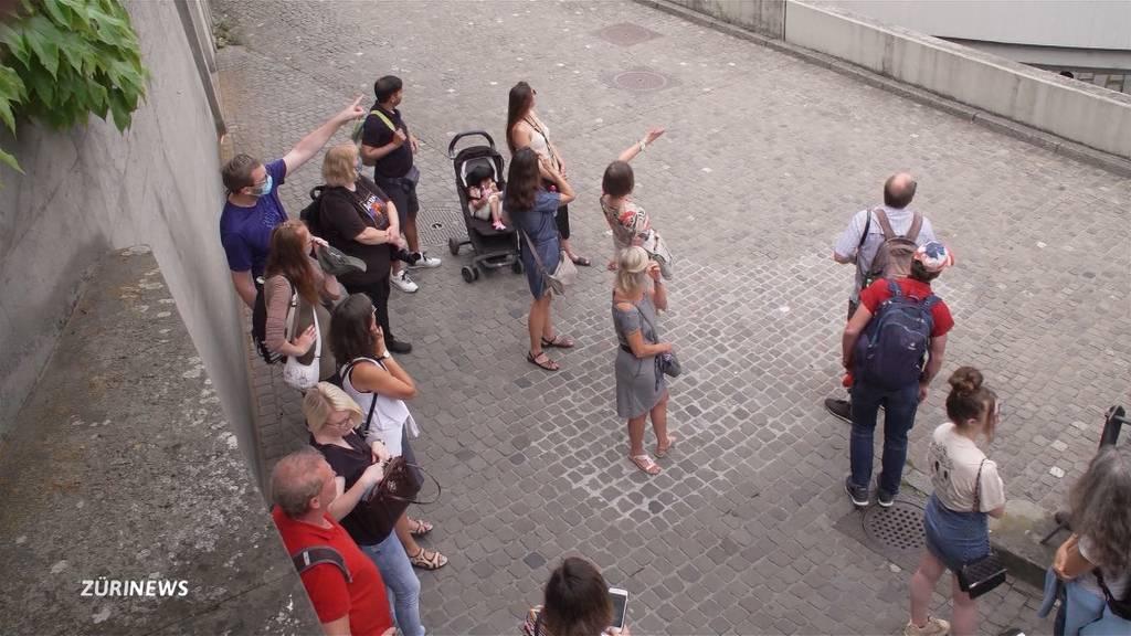 Zürich leidet unter Touristenmangel