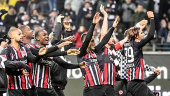 Eintracht Frankfurt jubelt in der Europa League regelmässig.