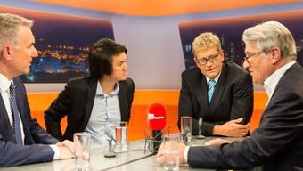 In der Sendung «TalkTäglich» vom Dienstagabend diskutierten Regierungsrat, Jungpolitiker und Casino-Betreiber zur Abstimmung über das Geldspielgesetz.