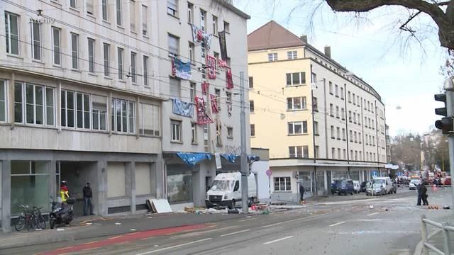 16 Hausbesetzer vor Regionalgericht Bern-Mittelland