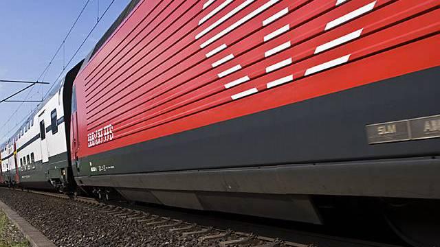 Ein Intercity-Zug der SBB. (Symbolbild, Archiv)