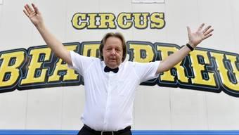 Beim ersten Anlauf klappte es nicht, nun versucht es Beat Breu nochmals: Der Ex-Radstar will Zirkus machen.