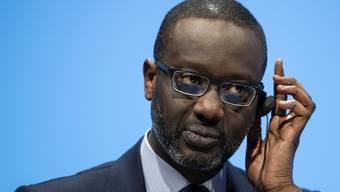 Üblen Attacken ausgesetzt: Tidjane Thiam, Chef der Credit Suisse. (KEYSTONE/Ennio Leanza)
