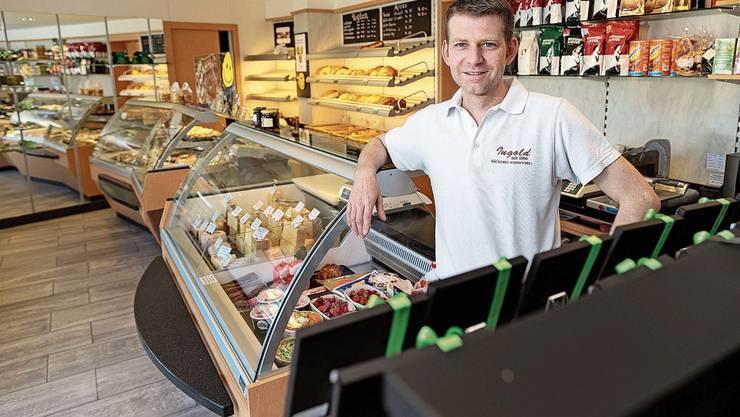 Bäcker- und Konditormeister Christian Ingold stellte in der Coronakrise ein verändertes Einkaufsverhalten fest.