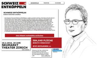 Die Verfluchungsaktion gegen SVP-Nationalrat Roger Köppel vom März hat für das Theater Folgen.