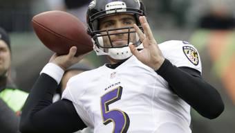 Joe Flacco, Quarterback der Baltomore Ravens