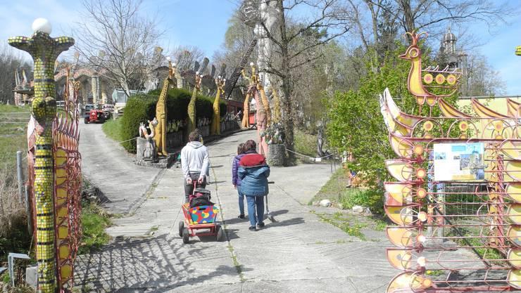 Saisoneröffnung im Bruno-Weber-Park: Die Tore zur Märchenwelt des Dietiker Künstlers stehen wieder offen