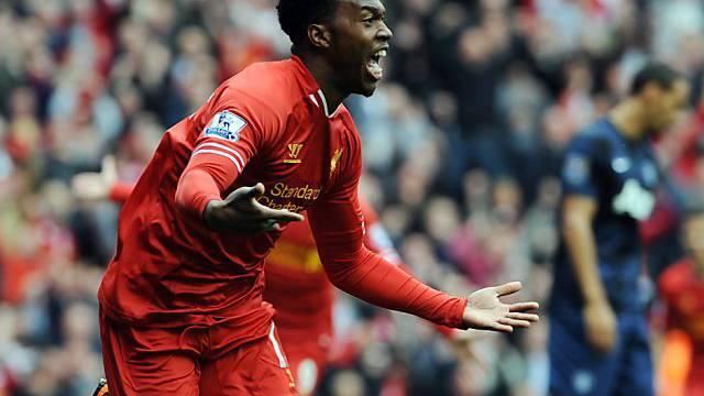 4. Tor im 4. Spiel: Liverpools Topskorer Daniel Sturridge