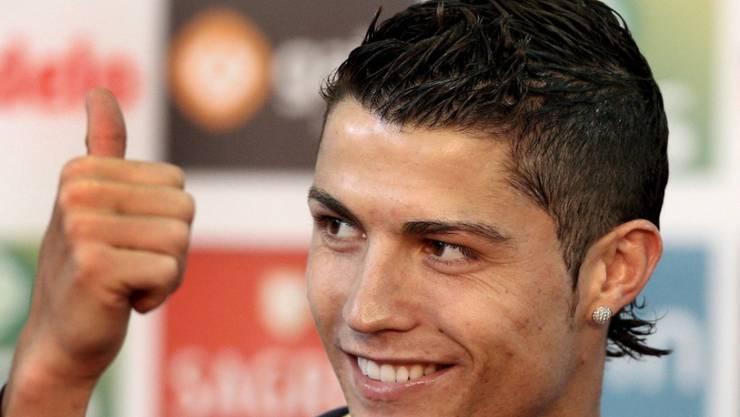 Wies die inzwischen zurückgezogenen Vergewaltigungsvorwürfe einer US-Amerikanerin stets zurück: Der portugiesische Fussballer Cristiano Ronaldo.