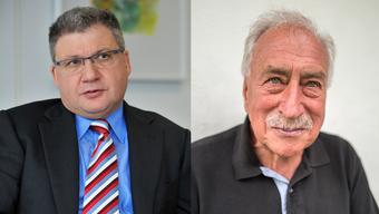 Hugo Mathys (links) und Ernst Thomke teilen sich die beiden von der «Bilanz» vergebenen Ränge im Kanton Solothurn.