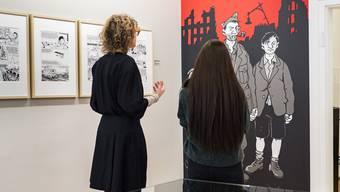 Jacques Tardi im Cartoonmuseum
