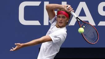 Alexander Zverev sorgte mit dem Coronaverdacht gegen den Russen Daniil Medwedew für Aufregung unter den Spielern bei den US Open.