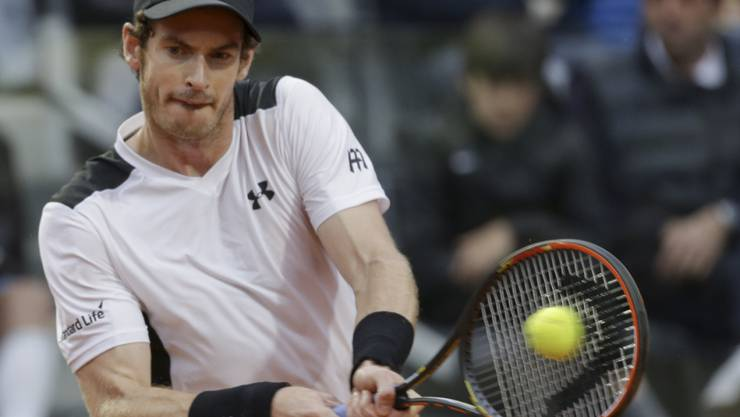 Andy Murray schlägt im Final von Rom an seinem 29. Geburtstag Titelverteidiger Novak Djokovic