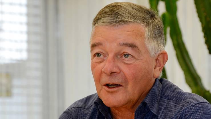 Anton Probst blickt auf acht Jahre Regierungszeit als Gemeindepräsident von Bellach zurück