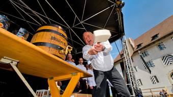 Zum Auftakt des Brugger Stadtfests gibts Freibier für alle