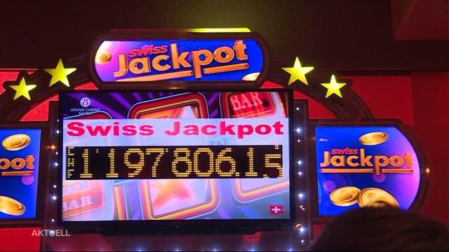 Jackpot für Schweizer Casinos