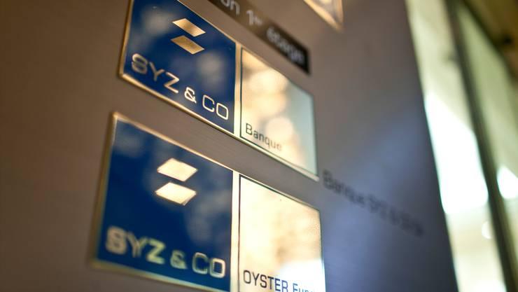 Wird von der Bankenaufsicht Finma gerügt, weil sie einen Verdacht auf Geldwäscherei nicht abgeklärt hat: Die Genfer Privatbank SYZ.