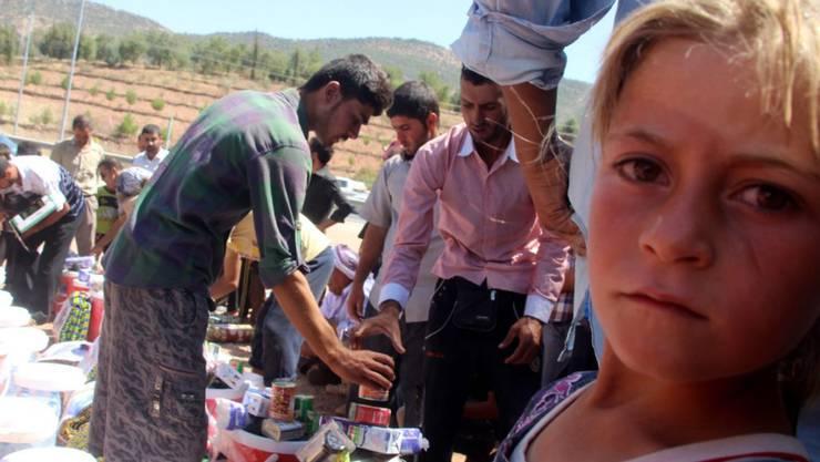 Vor dem IS geflohen: Angehörige der Minderheit der Jesiden im Irak (Symbolbild).