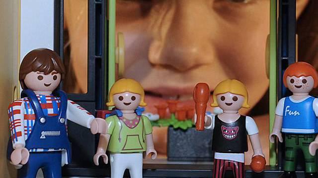 Playmobil erfreut sich bei Kindern noch immer grosser Beliebtheit (Archiv)
