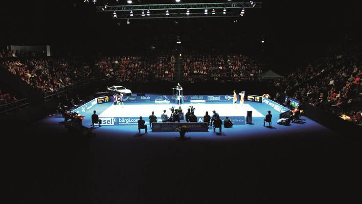 Die Swiss Open bieten in dieser Woche Spektakel in der Basler St. Jakobshalle.ZVG