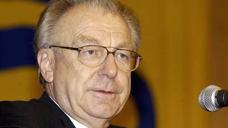 Lothar Späth verstarb im Alter von 78 Jahren. (Archivbild)