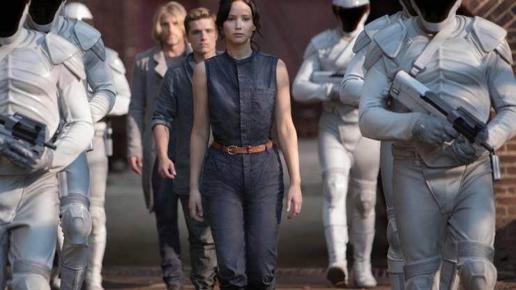 """Fans von """"The Hunger Games"""" können sich in New York auf die Spuren von Katniss Everdeen (gespielt von Jennifer Lawrence) begeben (Archiv)"""