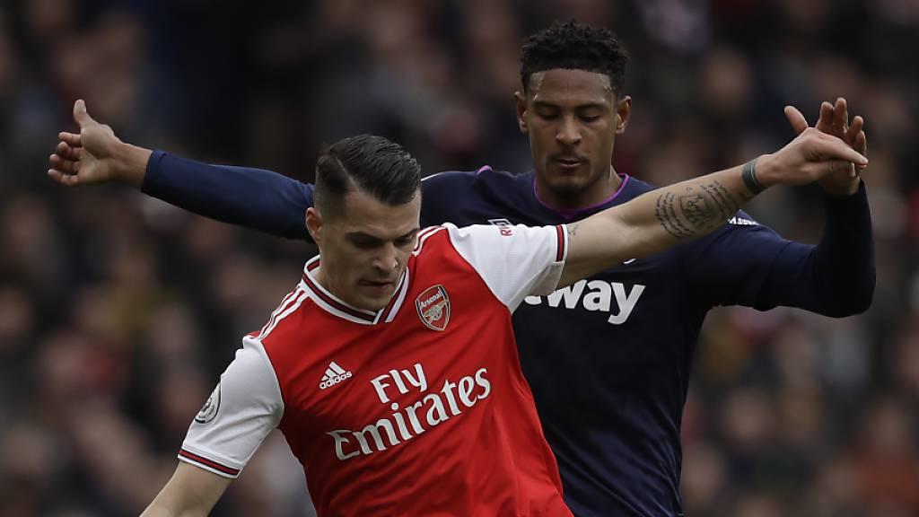 Granit Xhaka fühlt sich bei Arsenal unter Arteta wieder wohl